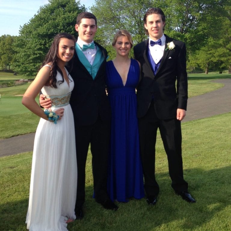 Conard High School Junior Prom. May 20, 2015. Photo courtesy of Diane Bintz