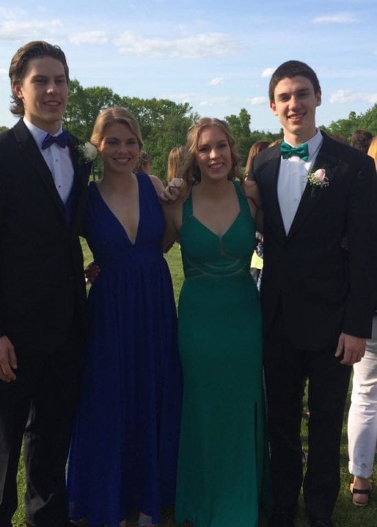 Conard High School Junior Prom. May 20, 2015. Photo courtesy of Liz Gustafson