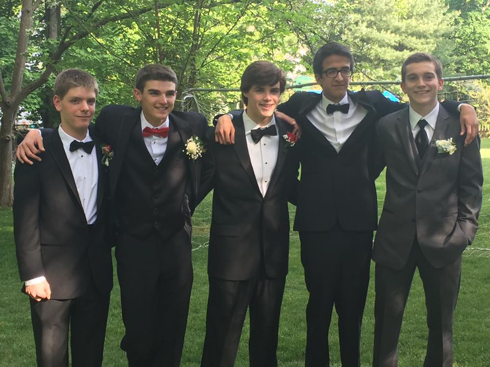 Conard High School Junior Prom. May 20, 2015. Photo courtesy of Cathy Puleo