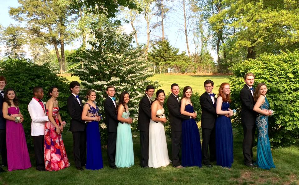 Conard High School Junior Prom. May 20, 2015. Photo courtesy of Chris Scigulinsky