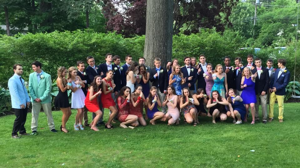 Conard Senior Prom. May 27, 2016. Photo courtesy of Linda Miron