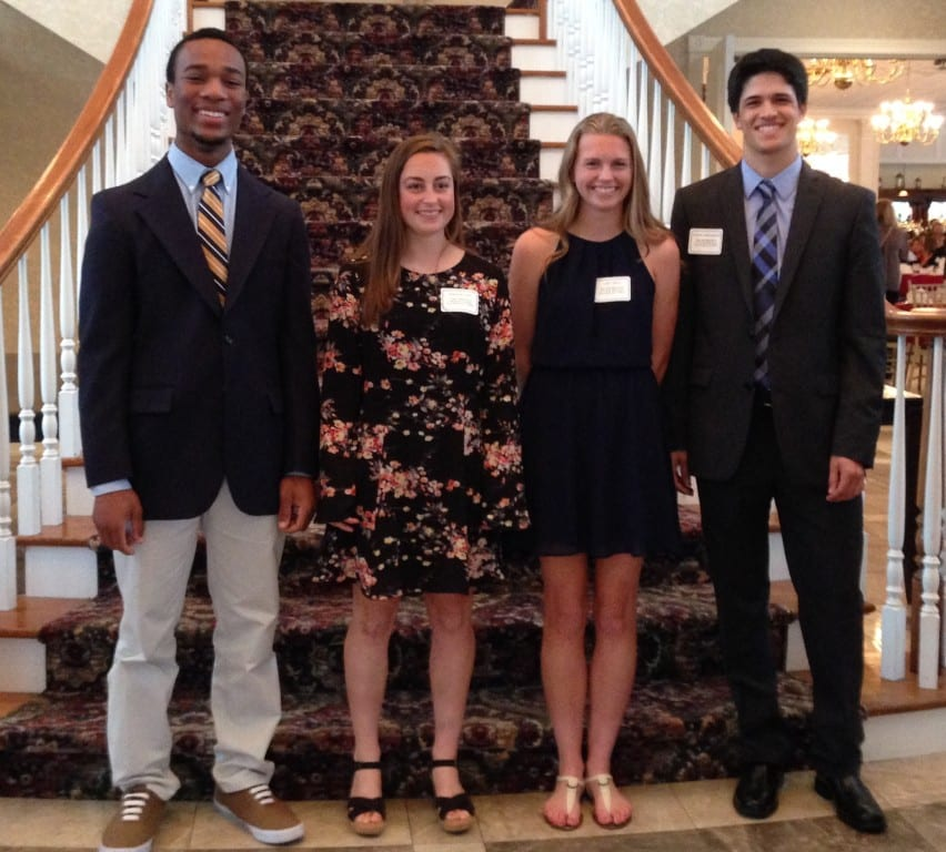 From left: Nate Richam-Odoi, Marisa Haverty, Lydia Chelli, AJ Speranza. Submitted photo