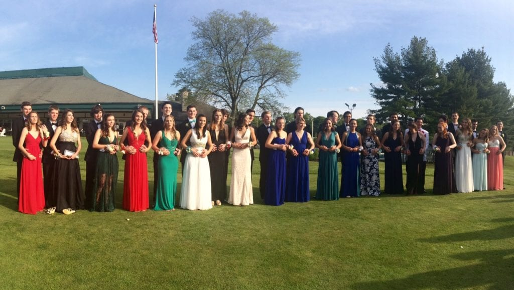 Conard High School Junior Prom. May 20, 2015. Photo courtesy of Margie Mathews