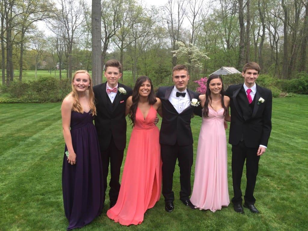Hall High School Junior Prom. May 7, 2015. Photo courtesy of Brenda Glidden