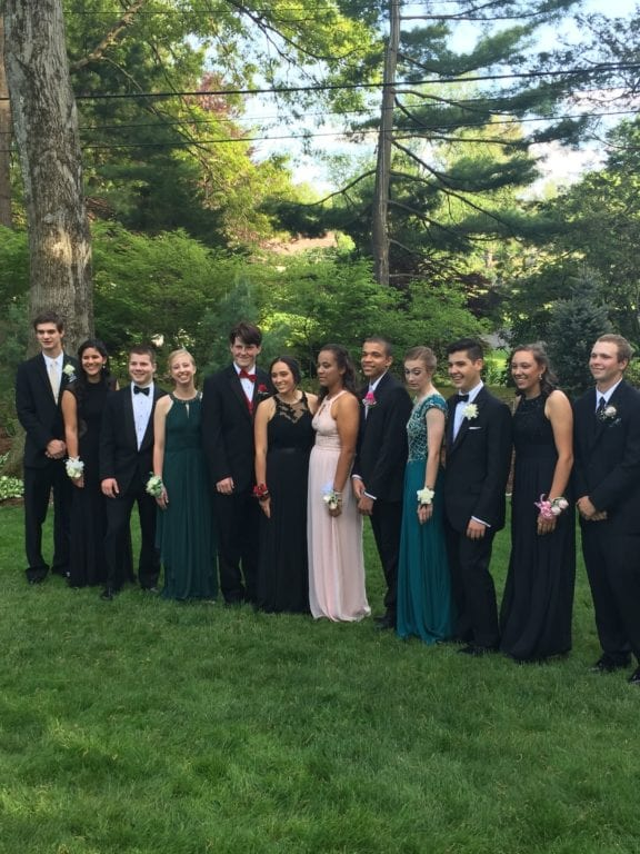 Conard High School Junior Prom. May 20, 2015. Photo courtesy of Lisa Beazoglou