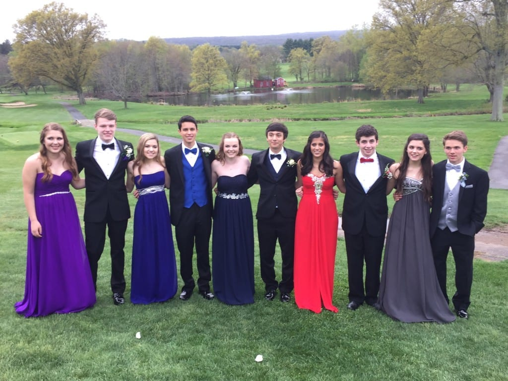 Hall High School Junior Prom. May 7, 2015. Photo courtesy of Laura Harker