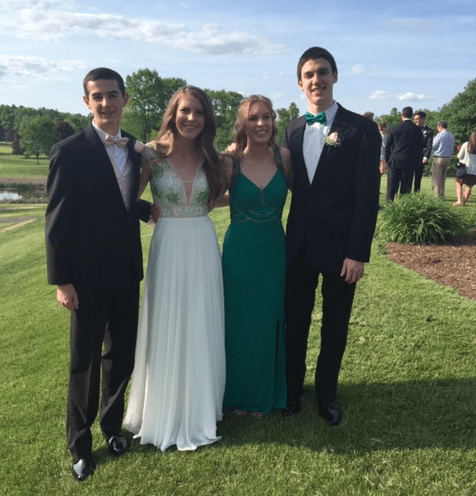 Conard High School Junior Prom. May 20, 2016. Photo courtesy of Tammy Cullina