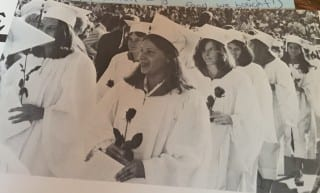 Shari Cantor at her graduation from Hall High School in 1977. Courtesy photo