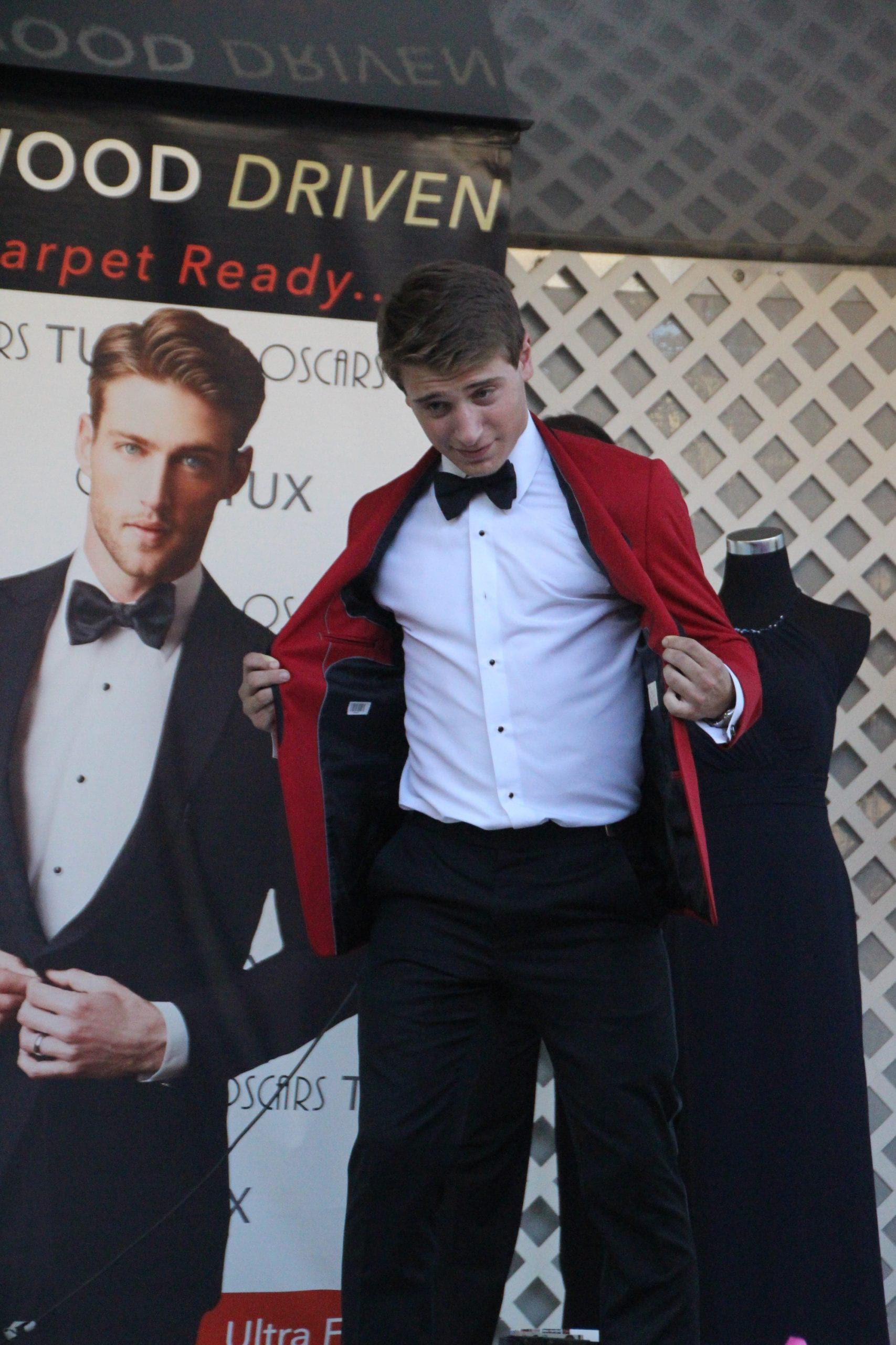 Fashion Show, featuring Oscars TUX, kicks off the Sale Days in West Hartford Center on the Town of West Hartford Showmobile stage on June 23, 2016. Photo credit: Dylan Carneiro