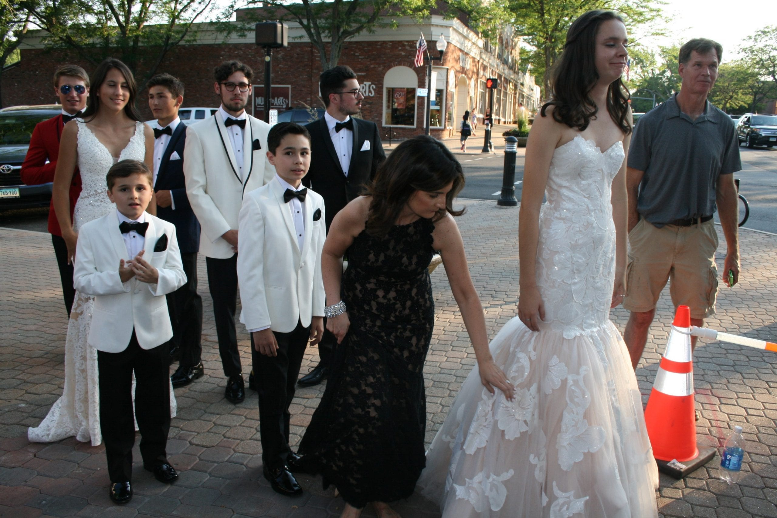 Fashion Show in West Hartford Center on the Town of West Hartford Showmobile stage on June 23, 2016. Photo credit: Joy Taylor
