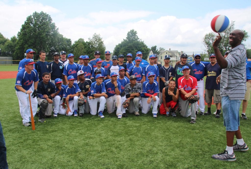 Team Cuba vs. Hartford at Hyland Park. Photo credit: Gary Cohen