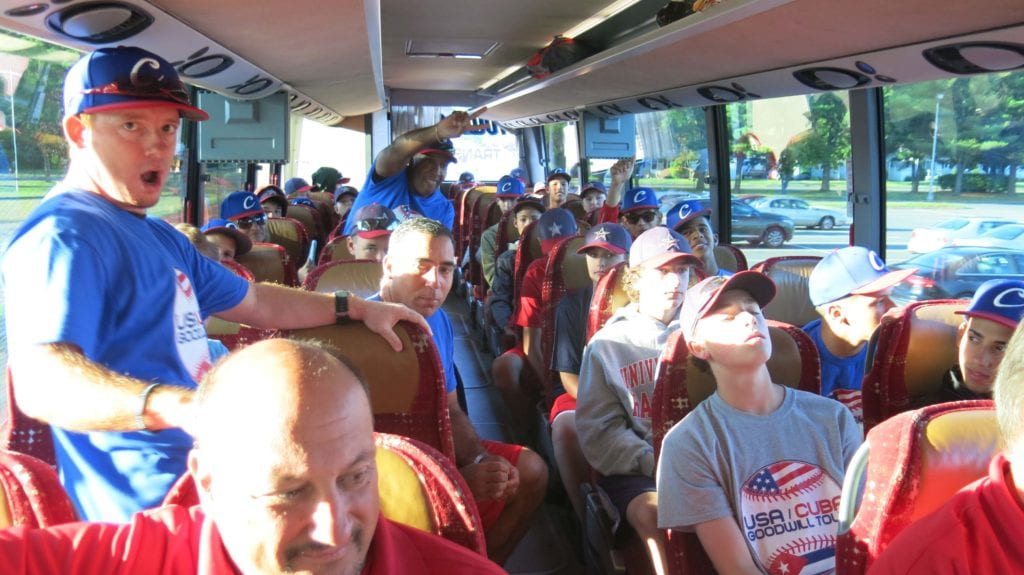 On the way to Cooperstown. Photo credit: Gary Cohen