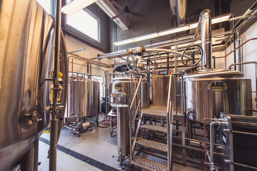 The brewhouse at Hog River Brewing. Courtesy photo