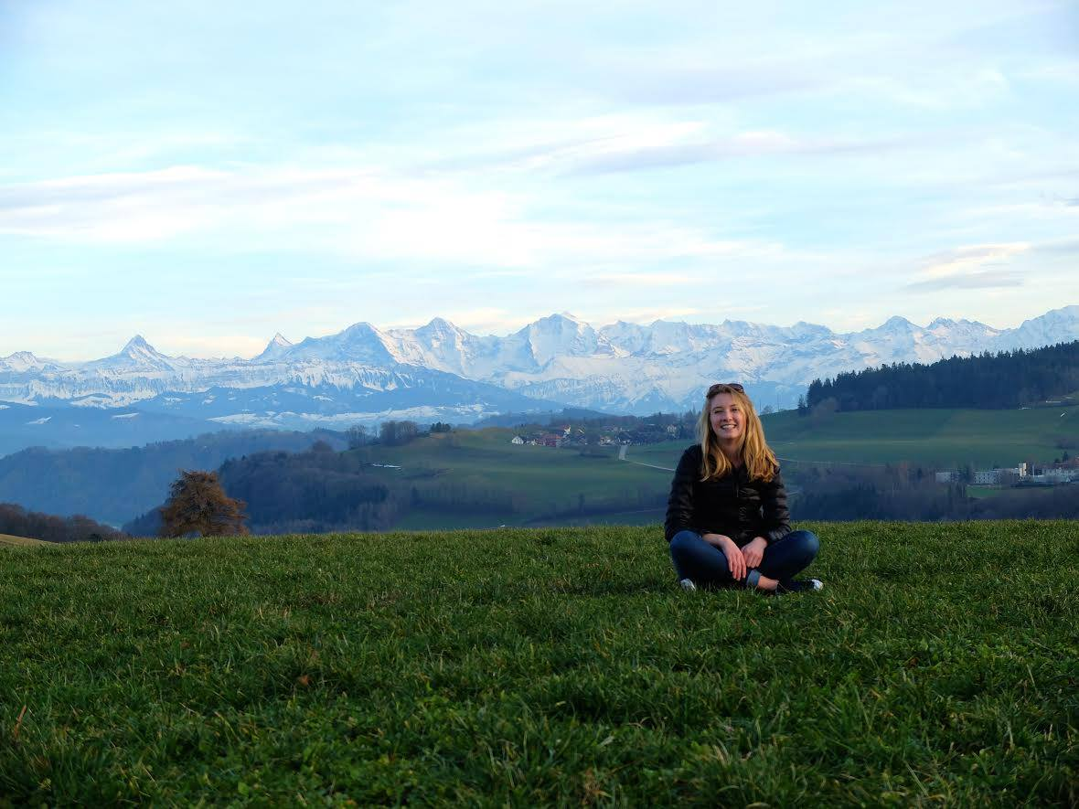Shelby Saunders, a rising senior at Colgate University, spent a semester in Switzerland with the International Organization for Migration. She is spending her summer as an intern for West Hartford-based Youth Journalism International. Submitted photo