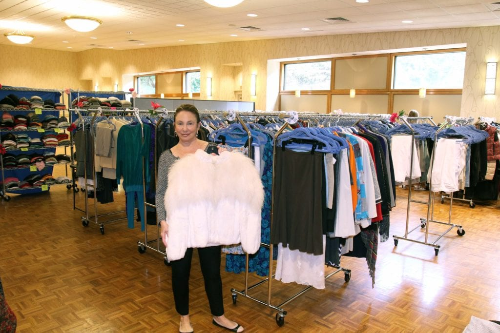 Barbara Roth holds her daughter Tara's coat. Submitted photo