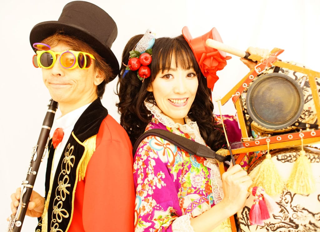 Tokyo's premier klezmer band will perform at the Mandell JCC. Submitted photo
