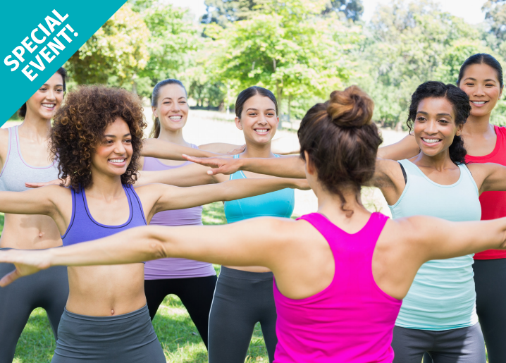 The Mandell JCC will offer free outdoor group fitness classes on Aug. 21. Submitted photo