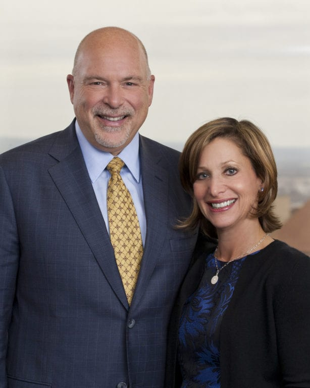 Mayor Shari Cantor and Michael Cantor are chairs of the WHAL's Party in the Park fundraiser. Submitted photo