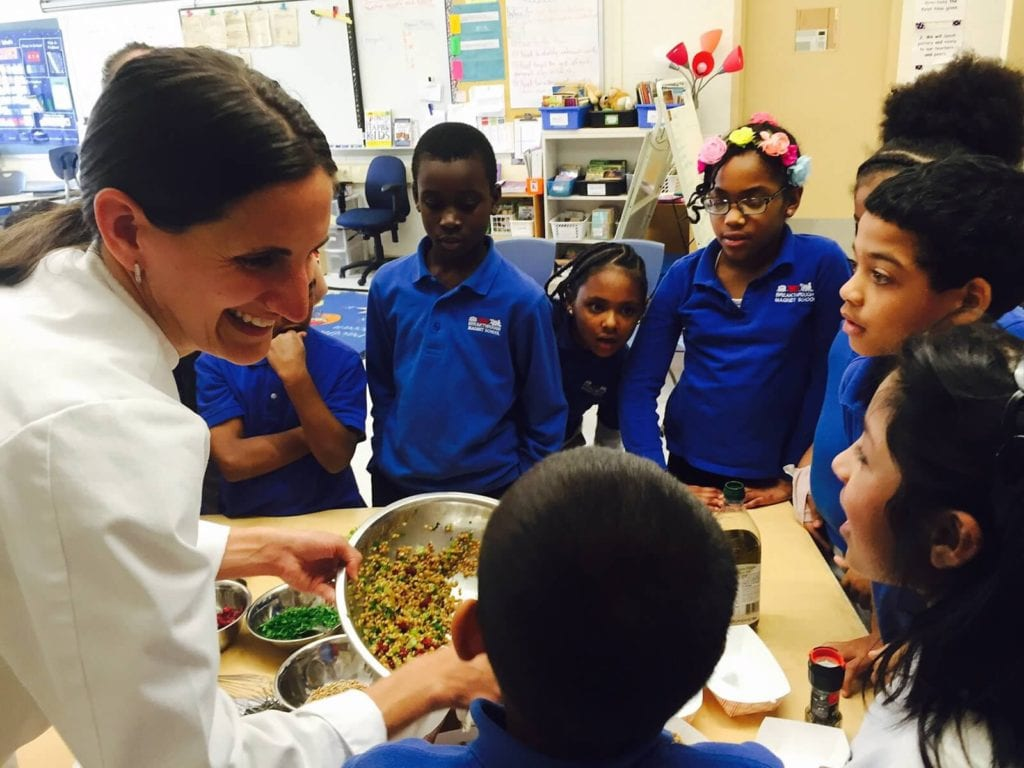 Chef Lindsey Perkins is one of the teachers in the GGS 'getCOOKing' series. Courtesy photo