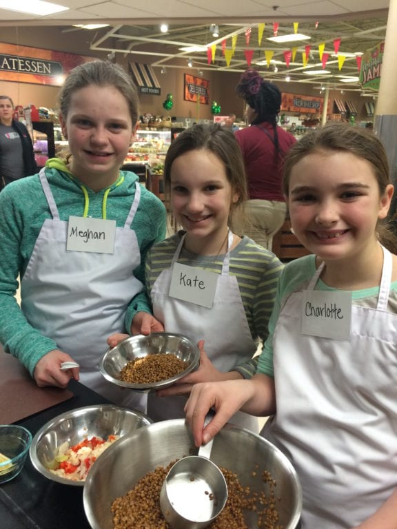 The GGS 'getCOOKing' series has classes for children ages 3 through middle school. Courtesy photo