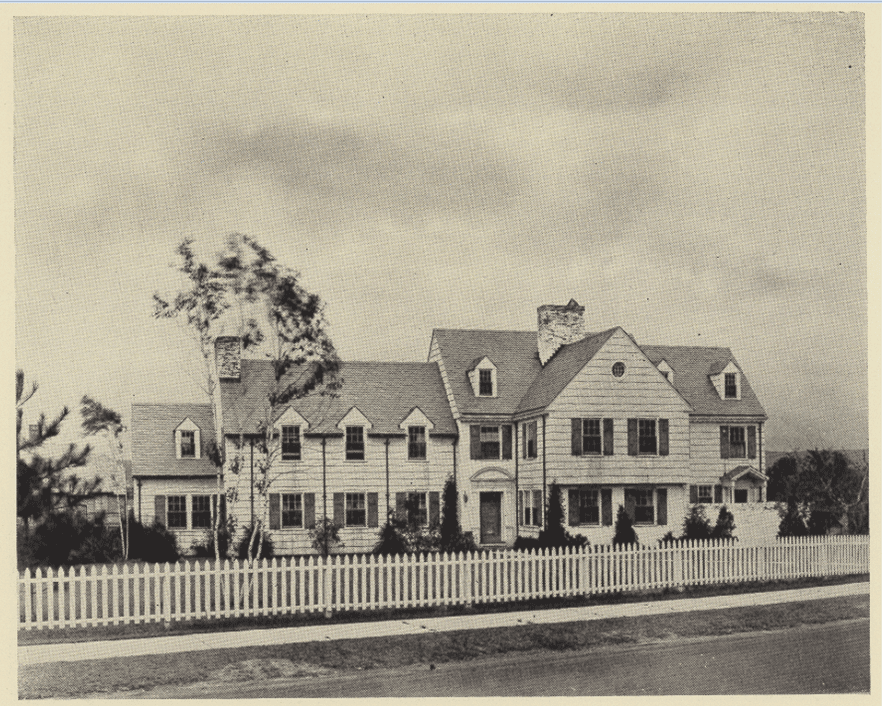 39 Colony Rd., circa 1930s. Courtesy of Noah Webster House & West Hartford Historical Society