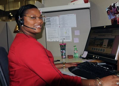 Chasity Terry of West Hartford has been recognized by Eversource for excellent customer service. Submitted photo