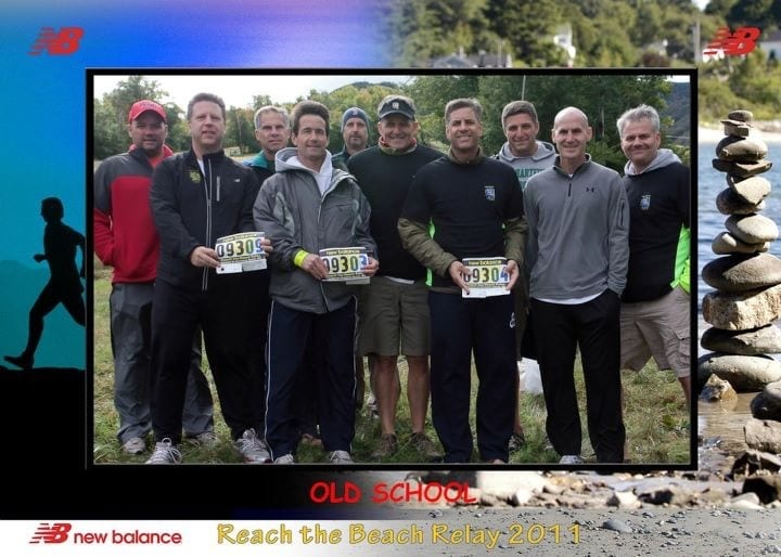 Old School at Reach the Beach in 2011. Lucio Lefante is third from right. Courtesy of Steve Baisden