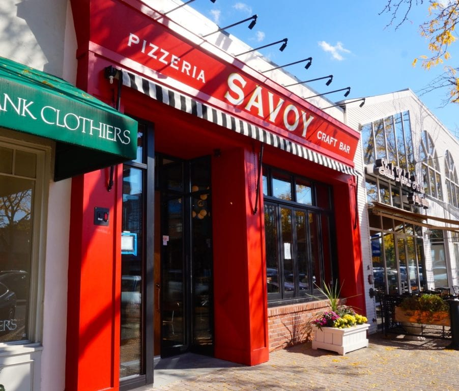 Savoy Pizzeria and Craft Bar opened in West Hartford Center on Oct. 20, 2016. Photo credit: Ronni Newton