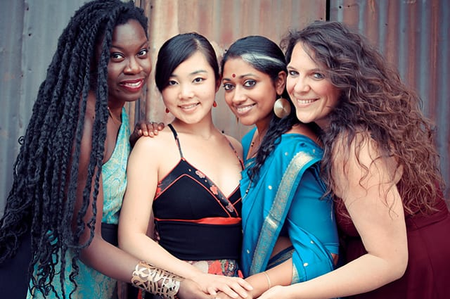 Coming to University of Saint Joseph coming on November 10 for the 2nd Annual Chapel Series, WOMEN OF THE WORLD, providing singing 'for wisdom, respect, joy and peace.' Courtesy Photo