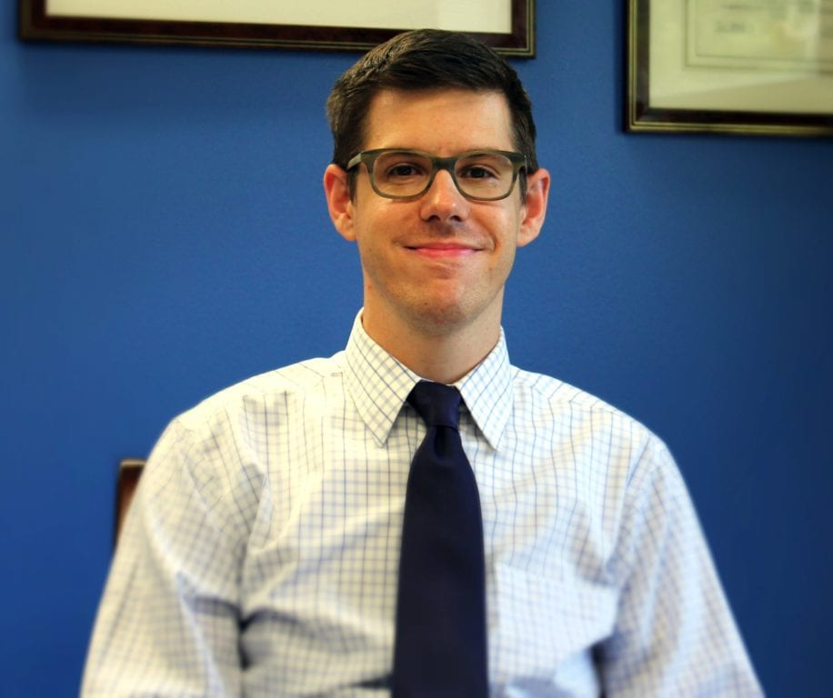 David McGuire of West Hartford has been named executive director of the ACLU of Connecticut. Courtesy photo