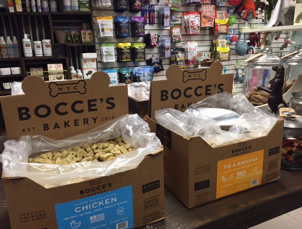 A variety of healthy dog treats can be found at Dogology. Photo credit: Ronni Newton