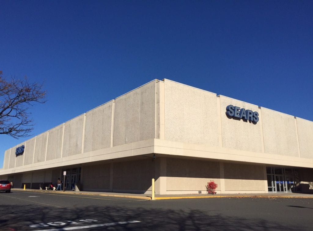 REI has made official its plans to move its West Hartford store from Blue Back Square to a portion of the space currently occupied by Sears. Photo credit: Ronni Newton