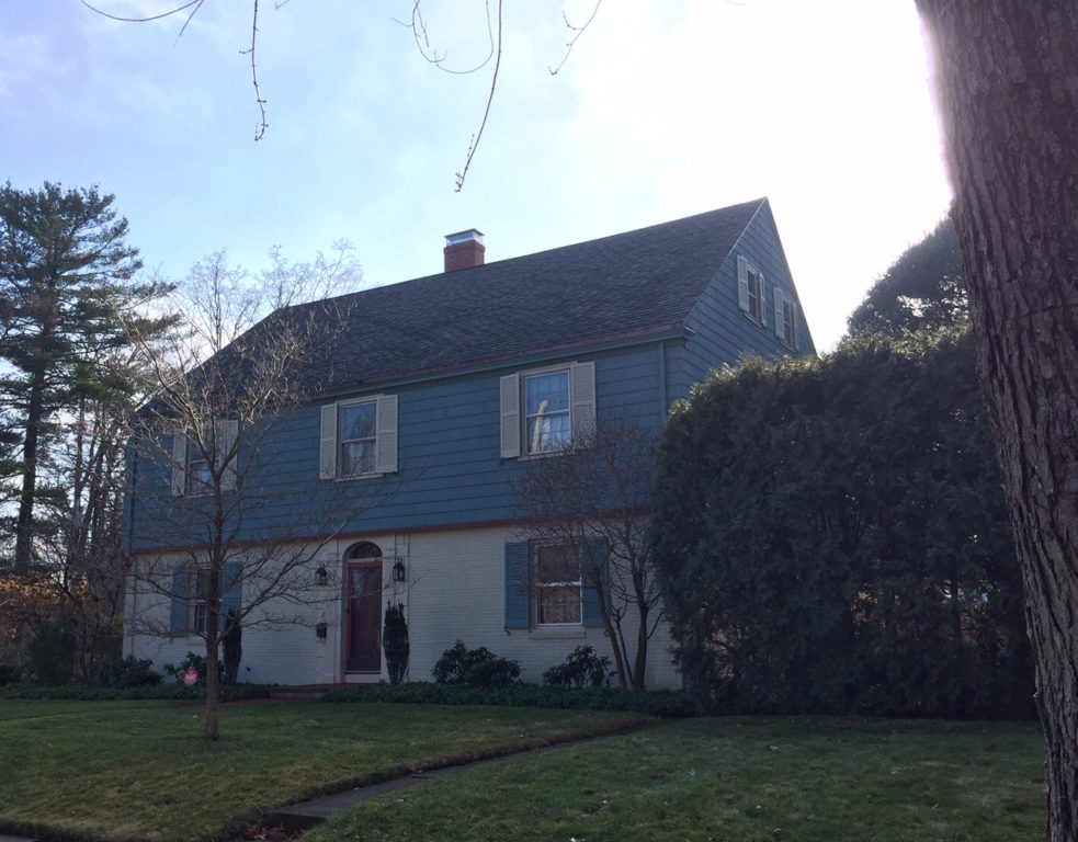 1 Birch Rd., West Hartford, CT, recently sold for $590,000. Photo credit: Ronni Newton