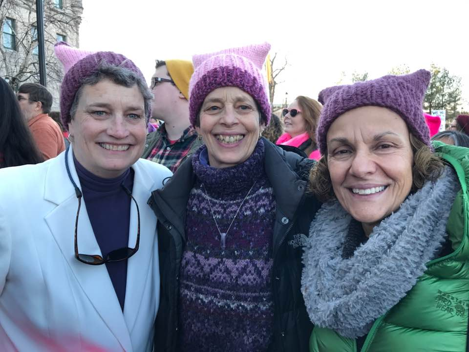 Women's March Connecticut. Photo courtesy of Beth Bye