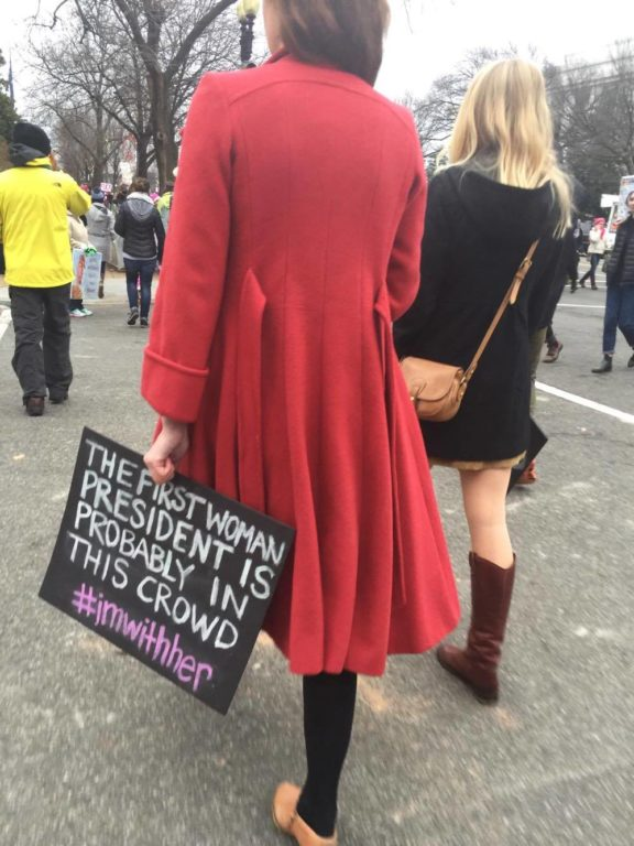 Women's March on Washington. Photo courtesy of Suzi Craig