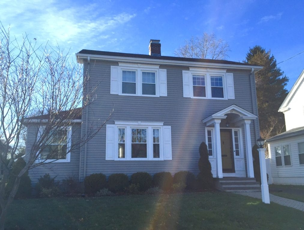 63 Clifton Ave., West Hartford, CT, recently sold for $401,000. Photo credit: Ronni Newton