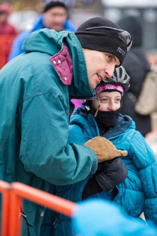 Morgan Rueckert of West Hartford with his daughter Sadie. Photo credit: Matthew Stuart