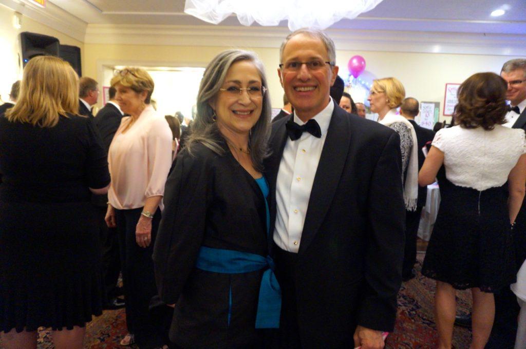 Jane Lehman and Matt Winter. Bridge Family Center's 18th Annual Children's Charity Ball. Jan. 21, 2017. Photo credit: Ronni Newton