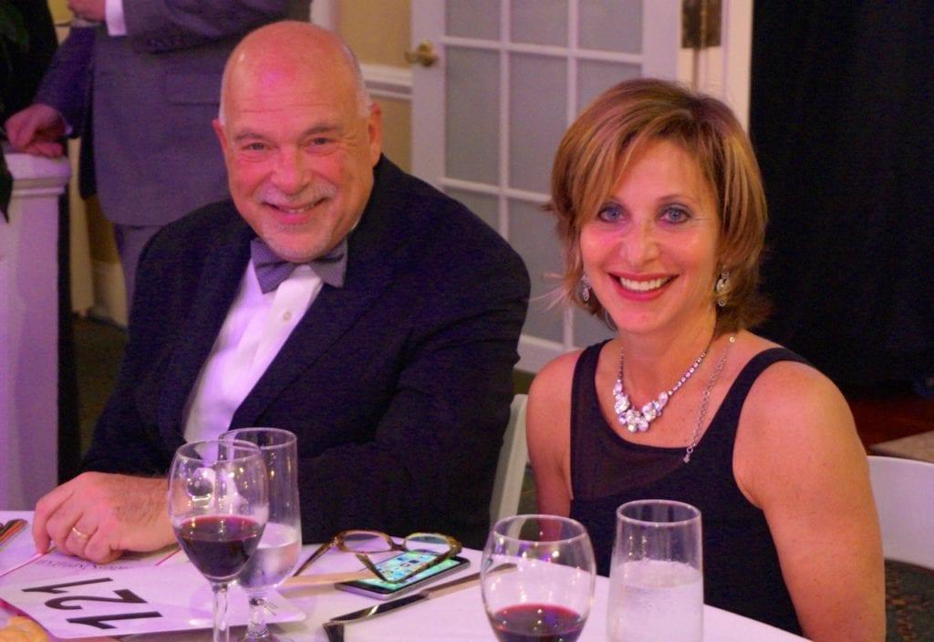 Michael and Shari Cantor. Bridge Family Center's 18th Annual Children's Charity Ball. Jan. 21, 2017. Photo credit: Ronni Newton