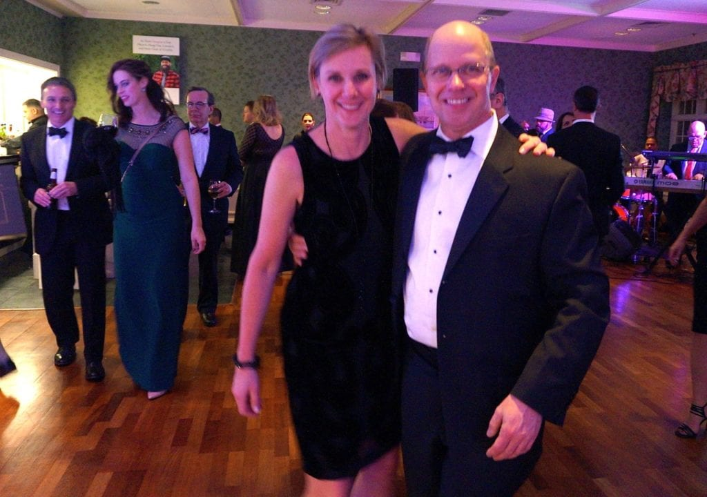 Mary Ellen and Steve Flege. Bridge Family Center's 18th Annual Children's Charity Ball. Jan. 21, 2017. Photo credit: Ronni Newton