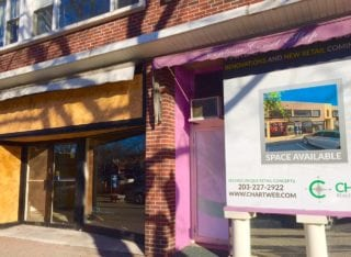 Harvest Wine Bar will be moving into the space at 64-66 LaSalle Rd. in West Hartford Center. Photo credit: Ronni Newton
