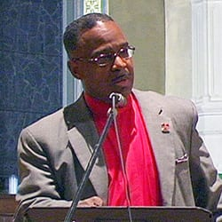 Pastor James A. Lane will be one of the keynote speakers at West Hartford's 21st annual Martin Luther King Jr. celebration. Submitted photo