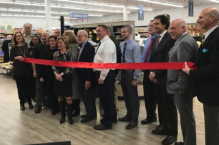 Crown Market ribbon cutting. Courtesy photo