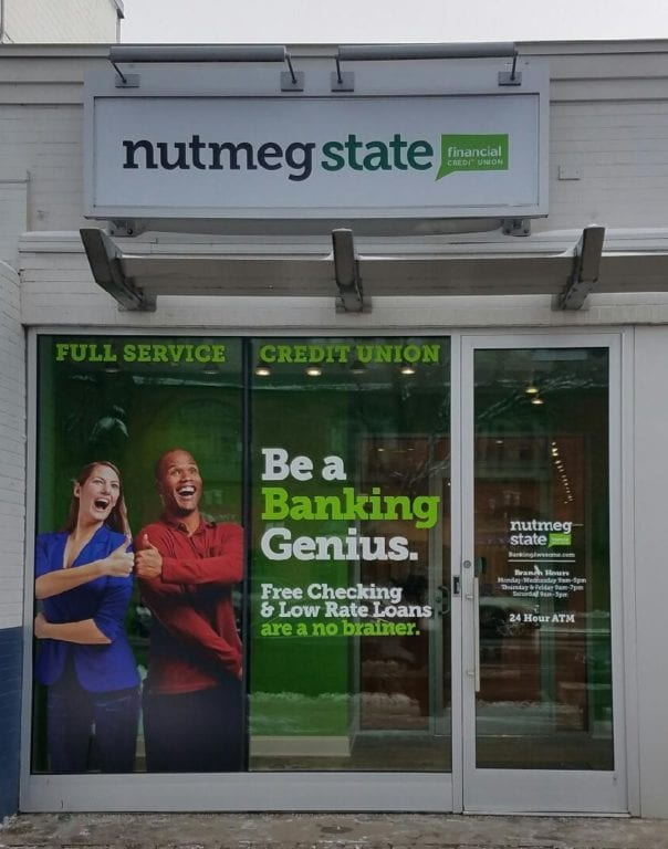 Nutmeg State Financial Credit Union, West Hartford branch. Submitted photo
