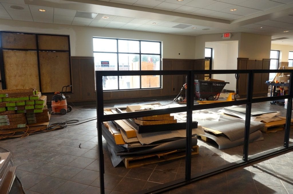 Chick-fil-A dining area. Photo credit: Ronni Newton