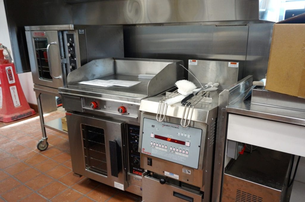 Fresh chocolate chunk cookies will be baked daily in this oven at Chick-fil-A in West Hartford. Photo credit: Ronni Newton