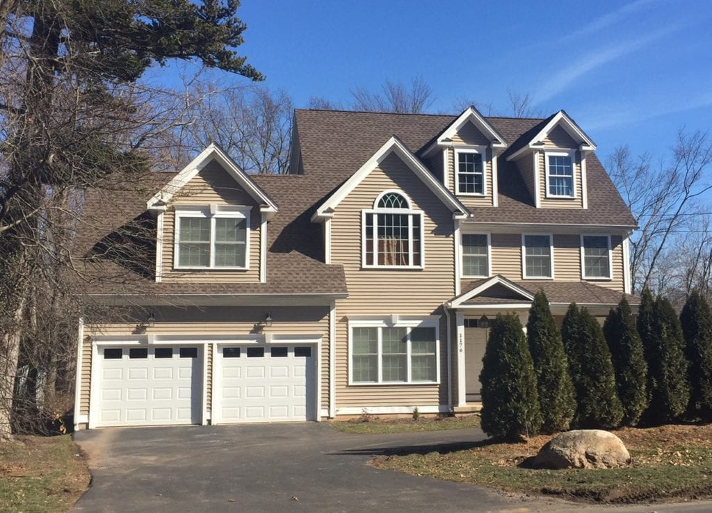 1176 North Main St., West Hartford, CT, recently sold for $465,000. Photo credit: Ronni Newton