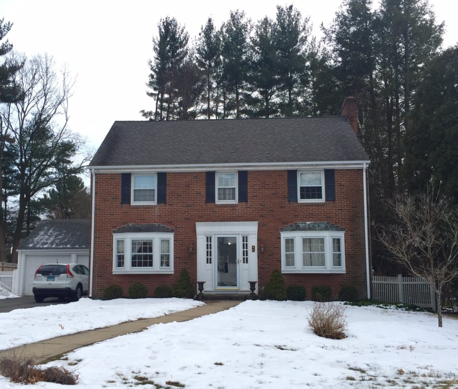 27 Brenway Dr., West Hartford, CT, recently sold for $355,000. Photo credit: Ronni Newton