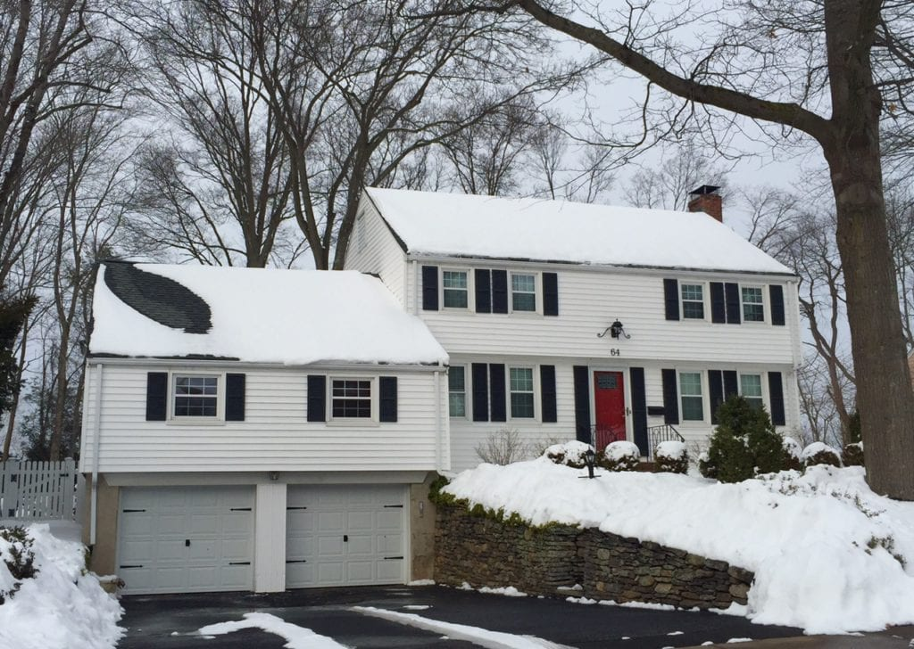 64 Sheep Hill Dr., West Hartford, CT, recently sold for $435,000. Photo credit: Ronni Newton