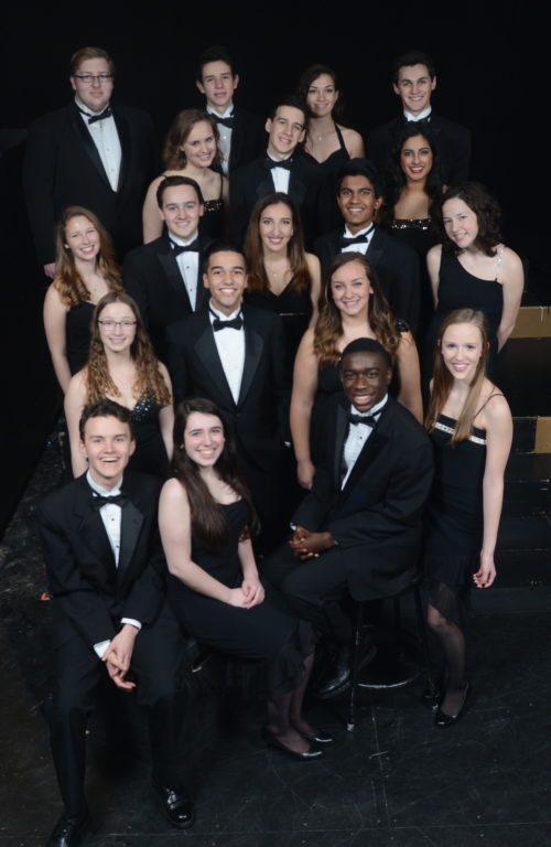 Hall High School Choraliers Jazz Singers. Photo credit: Edwin DeGroat